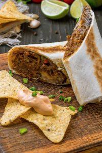 Shredded Beef Burrito Crock Pot Recipe
