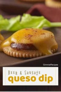Queso Dip: Sausage & Beer Cheese Dip Recipe