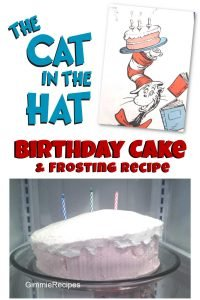 Cat in the Hat Whimsical Birthday Cake Recipe