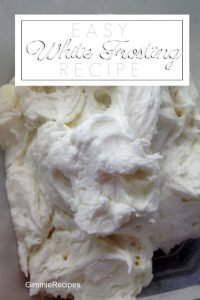 Easy White Frosting Recipe