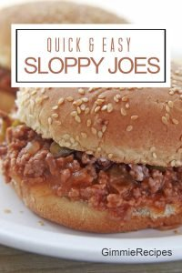 Easy Sloppy Joes Recipe {Manwich Style Copycat}