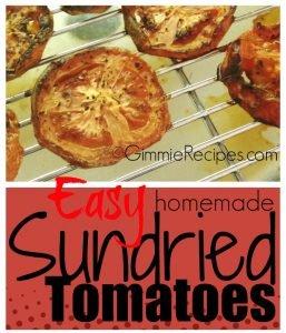 Easy Homemade Sundried Tomatoes Recipe