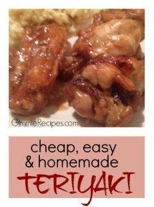 Cheap & Easy Teriyake Sauce Recipe {5 Simple Ingredients}