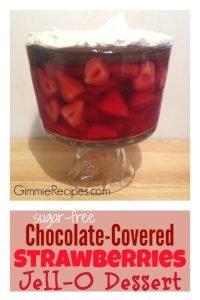 Chocolate Covered Strawberry Trifle Dessert Recipe