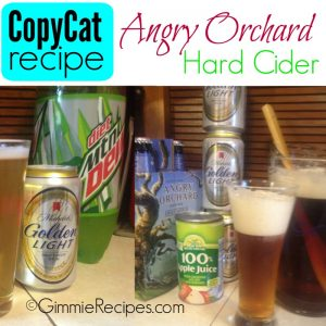 Angry Orchard Hard Cider Copycat Recipe {3 Simple Ingredients}