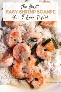 THE BEST Easy Shrimp Scampi Recipe You'll Ever Taste